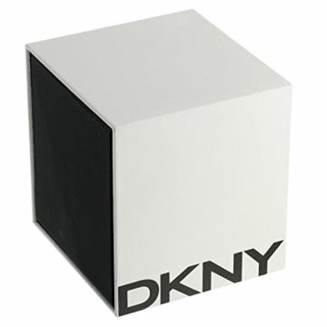 DKNY Damen Analog Quarz Uhr mit Edelstahl Armband NY2503 - 3