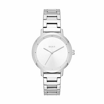 DKNY Damen Analog Quarz Uhr mit Edelstahl Armband NY2635 - 1