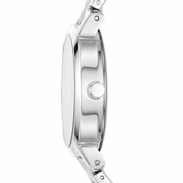 DKNY Damen Analog Quarz Uhr mit Edelstahl Armband NY2635 - 2