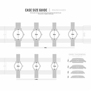 DKNY Damen Analog Quarz Uhr mit Edelstahl Armband NY2635 - 4