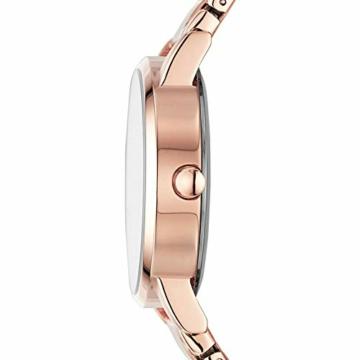 DKNY Damen Analog Quarz Uhr mit Edelstahl Armband NY2654 - 2