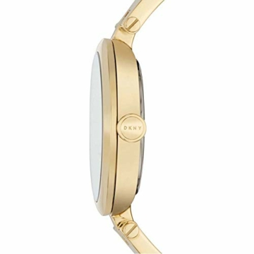 DKNY Damen Analog Quarz Uhr mit Edelstahl Armband NY2712 - 2