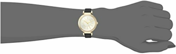 DKNY Damen Analog Quarz Uhr mit Leder Armband NY2587 - 2