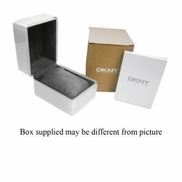DKNY Damen Analog Quarz Uhr mit Leder Armband NY2677 - 2