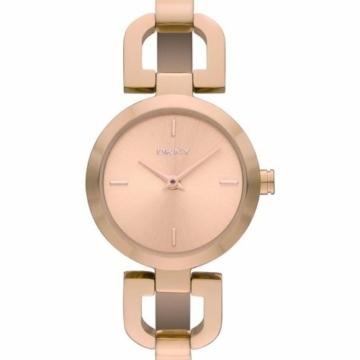 DKNY Damen-Armbanduhr XS Analog Quarz Edelstahl beschichtet NY8542 - 2