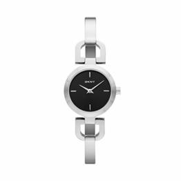 DKNY Damen-Armbanduhr XS Analog Quarz Edelstahl NY8541 - 1