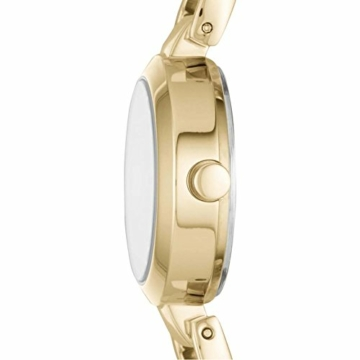 DKNY - Damen City Link Quarzuhr mit Edelstahlarmband, Gold, 5 (Modell: NY2750) - 2