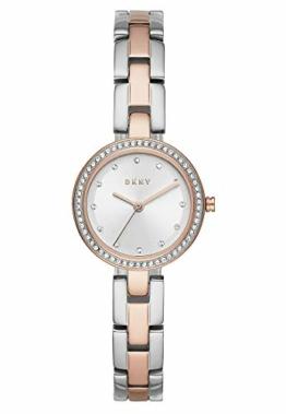 DKNY Damen-Uhren Analog Quarz One Size Bicolor 32010654 - 1