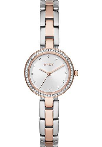 DKNY Damen-Uhren Analog Quarz One Size Bicolor 32010654 - 2