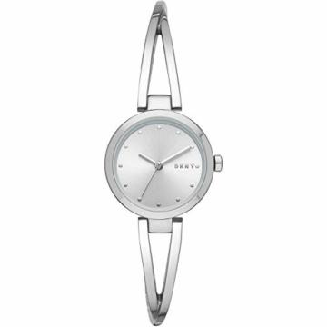 DKNY Damen-Uhren Analog Quarz One Size Silber Edelstahl 32002251 - 1