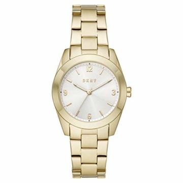 DKNY Damen-Uhren Quarz One Size 87920631 - 1