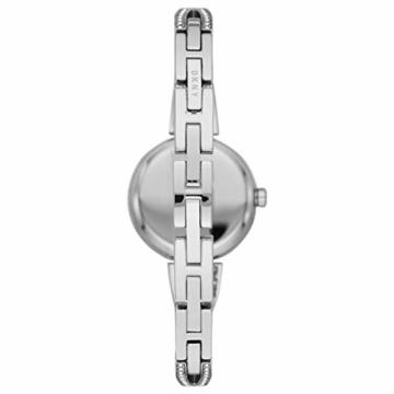 DKNY Damen-Uhren Quarz One Size Silberfarben Edelstahl 32012026 - 2