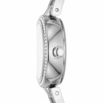 DKNY Damen-Uhren Quarz One Size Silberfarben Edelstahl 32012026 - 3