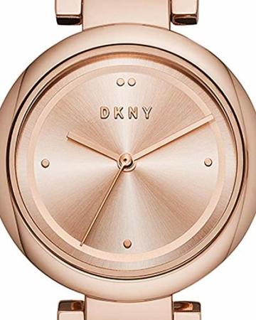 DKNY Eastside - Damenuhr mit roségoldenem Edelstahlarmband - NY2769 - 4