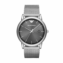 Emporio Armani Herren Analog Quarz Uhr mit Edelstahl Armband AR11069 - 1