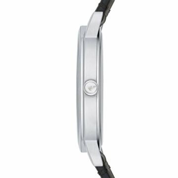 Emporio Armani Herren Analog Quarz Uhr mit Leder Armband AR11013 - 3