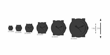 Emporio Armani Herren Analog Quarz Uhr mit Leder Armband AR11013 - 7