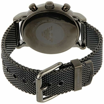 Emporio Armani Herren Chronograph Quarz Uhr mit Edelstahl Armband AR1979 - 2