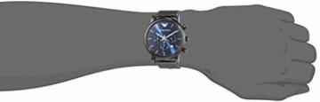 Emporio Armani Herren Chronograph Quarz Uhr mit Edelstahl Armband AR1979 - 4