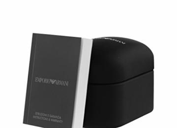 Emporio Armani Herren Chronograph Quarz Uhr mit Edelstahl Armband AR2460 - 3