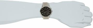 Emporio Armani Herren Chronograph Quarz Uhr mit Edelstahl Armband AR2460 - 5