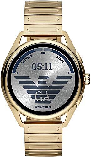 Emporio Armani Men's Gold Smartwatch - 2