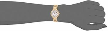 Fossil Damen Analog Quarz Uhr mit Edelstahl Armband ES3284 - 4