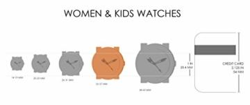 Fossil Damen Analog Quarz Uhr mit Edelstahl Armband ES3284 - 9