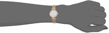 Fossil Damen Analog Quarz Uhr mit Edelstahl Armband ES4433 - 4