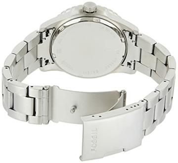 Fossil Herren Analog Quarz Uhr mit Edelstahl Armband FS5652 - 2