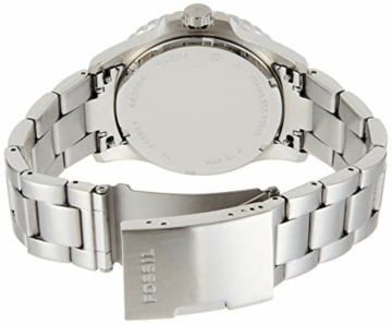 Fossil Herren Analog Quarz Uhr mit Edelstahl Armband FS5657 - 2