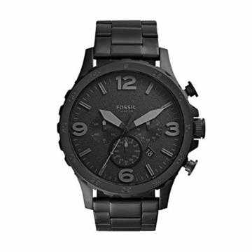 Fossil Herren Chronograph Quarz Uhr mit Edelstahl Armband JR1401 - 1