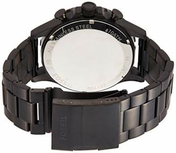 Fossil Herren Chronograph Quarz Uhr mit Edelstahl Armband JR1401 - 2