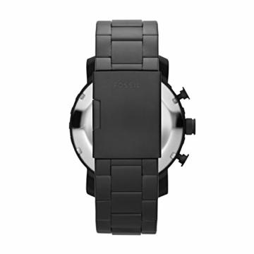 Fossil Herren Chronograph Quarz Uhr mit Edelstahl Armband JR1401 - 4