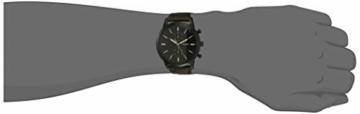 Fossil Herren Chronograph Quarz Uhr mit Leder Armband FS5437 - 4