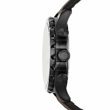 Fossil Herren Chronograph Quarz Uhr mit Leder Armband JR1487 - 2