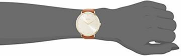 Hugo Boss Damen Datum klassisch Quarz Uhr mit Leder Armband 1502411 - 2