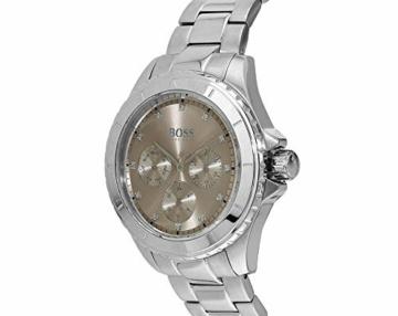 Hugo Boss Damen Multi Zifferblatt Quarz Uhr mit Edelstahl Armband 1502444 - 4