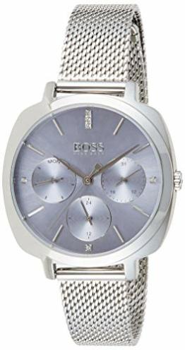 Hugo Boss Damen Multi Zifferblatt Quarz Uhr mit Edelstahl Armband 1502491 - 1