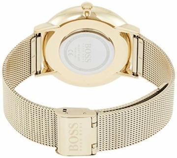 Hugo Boss Herren Analog Quartz Uhr mit Edelstahl Armband 1513735 - 2