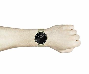 Hugo Boss Herren Analog Quartz Uhr mit Edelstahl Armband 1513735 - 4