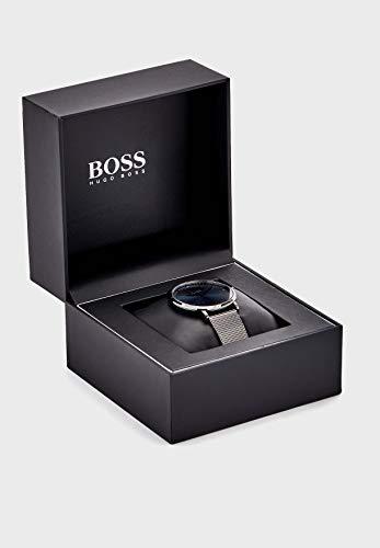 Hugo Boss Herren Analog Quarz Uhr mit Edelstahl Armband 1513734 - 5
