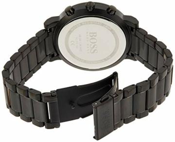 Hugo Boss Herren Analog Quarz Uhr mit Edelstahl Armband 1513780 - 2