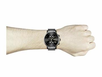 Hugo Boss Herren Analog Quarz Uhr mit Edelstahl Armband 1513780 - 4