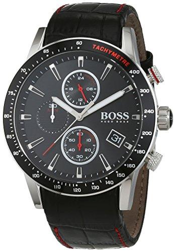 Hugo Boss Herren-Armbanduhr 1513390, Schwarz/Silber - 1