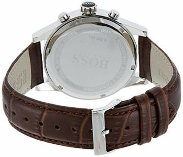 Hugo Boss Herren-Armbanduhr JET Chronograph Quarz Leder 1513280 - 2