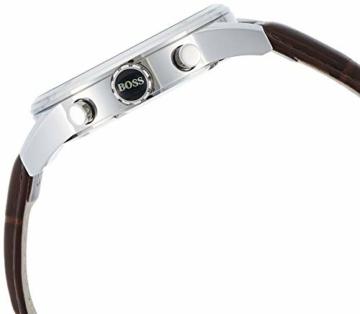 Hugo Boss Herren-Armbanduhr JET Chronograph Quarz Leder 1513280 - 3