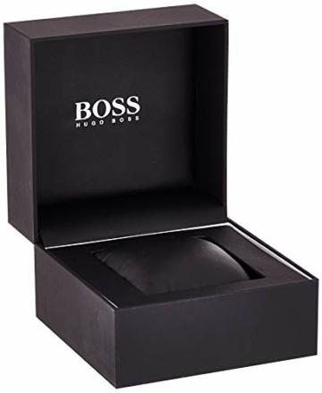 Hugo Boss Herren-Armbanduhr JET Chronograph Quarz Leder 1513280 - 8