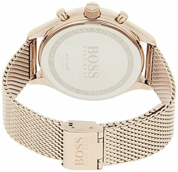 Hugo Boss Herren Chronograph Quarz Uhr mit Edelstahl Armband 1513548 - 2