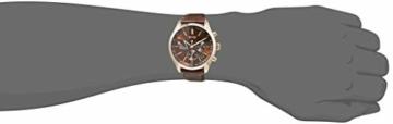 Hugo Boss Herren Chronograph Quarz Uhr mit Leder Armband 1513605 - 2